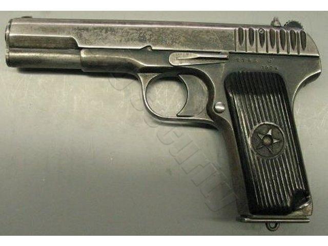 Пистолет ТТ расшифровывается как Тульский Токарев.
