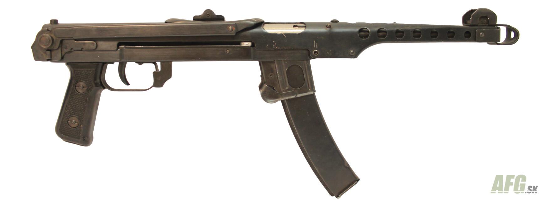Expanzný samopal Sudajev PPS 43 kal.9x19
