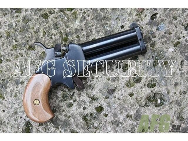 Perkusné zbrane derringer (111mm) kal.45, čierny