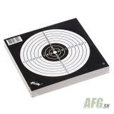 Terč vzduchovka čierno-biely, balenie 50 ks, 14 x 14 cm