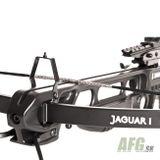 Kuša reflexná Jaguar 150 lbs čierna