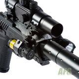 Vzduchová pištoľ Gamo PT-85 blowback Tactical, kal. 4,5 mm, čierna