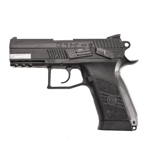 Vzduchová pištoľ CZ 75 P07 Duty Blowback CO2, kal. 4,5 mm