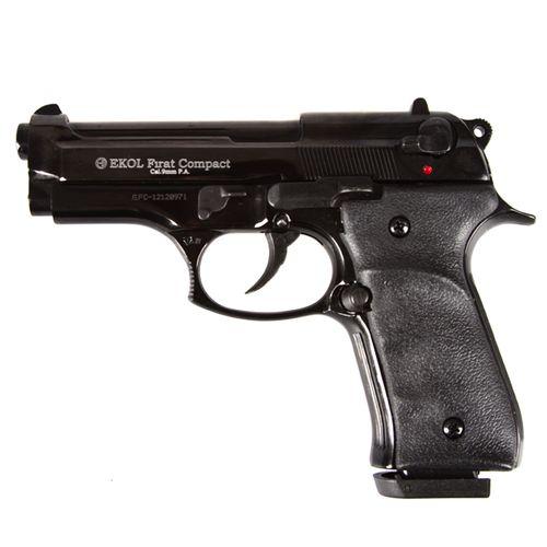 Plynová pištoľ Ekol Firat Compact, čierna, kal. 9 mm