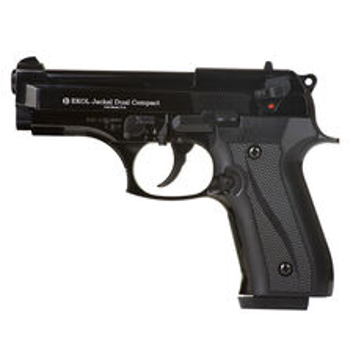 Plynová pištoľ Ekol Jackal dual Compact čierna, kal.9 mm - Knall - Full Auto