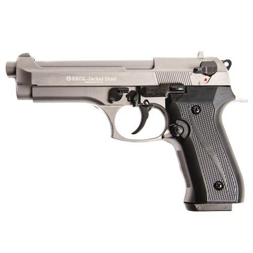 Plynová pištoľ Ekol Jackal dual titan, kal.9 mm - Knall - Full Auto