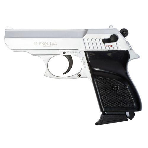Plynová pištoľ Ekol Lady silver, kal.9 mm - Knall