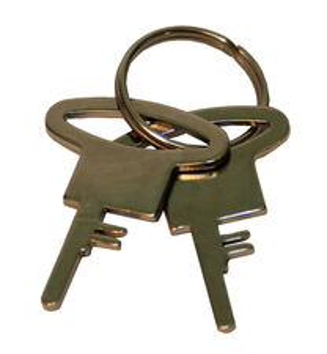 Putá policajné 9921 náhradné kľúče 1 ks