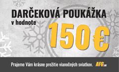 Darčeková poukážka v hodnote 150 EUR