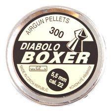 Diabolo Boxer, 300 ks, kal. 5,5 mm