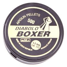 Diabolo Boxer, 500 ks, kal. 4,5 mm