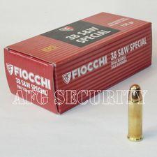Guľový náboj Fiocchi .38 SW FMJ /10.24 g /158 grs /50 ks