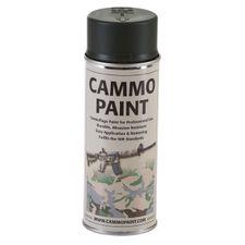 Kamuflážna farba Cammo paint zelená 400 ml