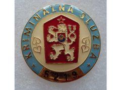 Odznak kriminálnej služby