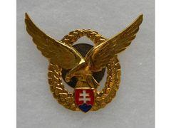 Odznak pilotný, zlatý