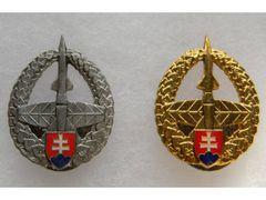 Odznak slovenského raketového vojska