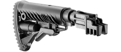 Pažba pevná pre AK 47 typ M16 s absorbérom polymerová, čierna SBT-K47FK