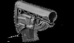 Pažba samostatná GK-MAG pre AK/AKM čierna s 10 ranovým zásobníkom