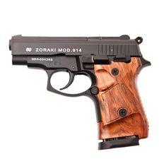 Plynová pištoľ Atak Zoraki 914 Auto čierna, kal.9 mm, pažba drevo