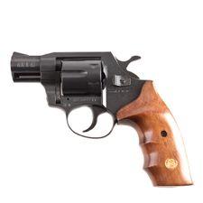 Plynový revolver ALFA 020 čierny, drevo, kal.9mm R Knall