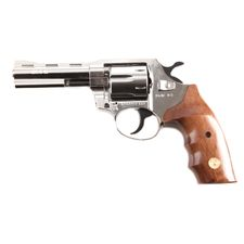 Plynový revolver ALFA 040 nikel, drevo, kal.9mm R Knall