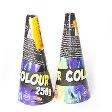 Pyrotechnika Vulkán farebný 250 g (2 ks)