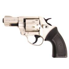"Revolver Kora .22 WMR 2,5"" matný nikel s extra valcom .22LR"