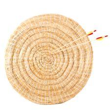 Terčovnica okrúhla slamená 80cm