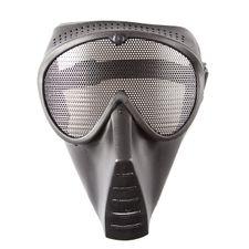 Airsoft maska medium, čierna