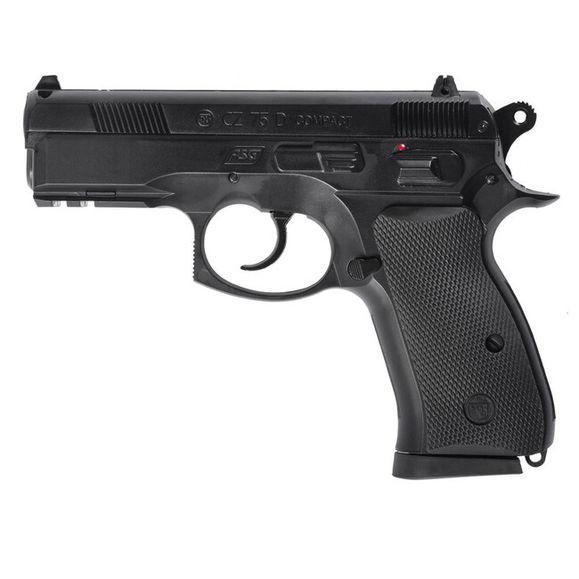 Airsoft pištoľ CZ 75 D Compact 6 mm Gas, čierna