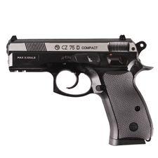 Airsoft pištoľ CZ 75 D DuoTone CO2 4,5 mm, čierna