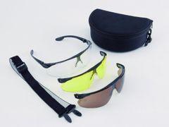 Balistické okuliare Peltor, 3-súprava