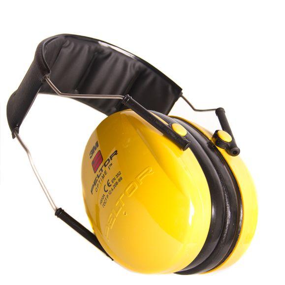 Chrániče sluchu Peltor Optime I, žlté