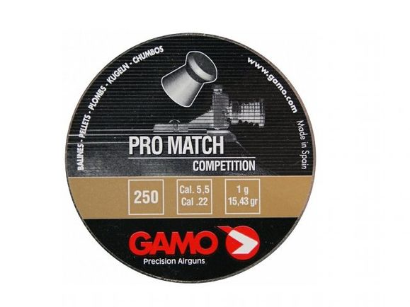 Diabolo Gamo Pro Match, 250 ks, kal. 5,5 mm