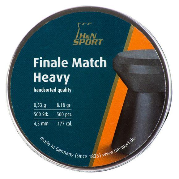 Diabolo HN Finale Match Heavy, kal. 4,5 mm, 500 ks