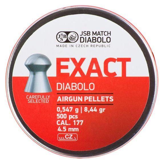 Diabolo JSB Exact kal.4,53 mm (.177)/500 ks