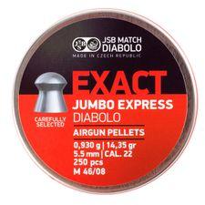 Diabolo JSB Jumbo Exact express, kal. 5,52 mm