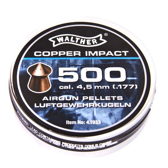 Diabolo Walther Copper Impact 500 ks, kal. 4,5 mm