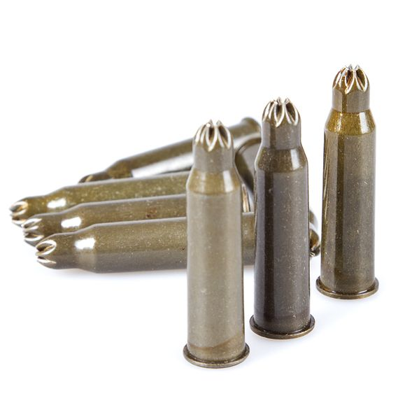 Expanzné strelivo 7,62 x 54 R Blank 80 ks