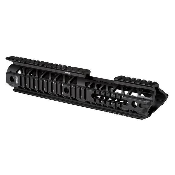 Hlinikový rail pre M16 predĺžená verzia