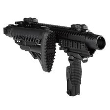 Karabinová konverzia KPOS G2 pre Glock 17, 18,19, 22, 23, M4 pažba