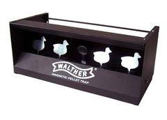 Strelnica - lapač brokov Walther štyri kačky