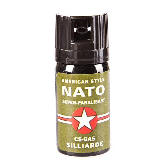 Obranné spreje CS NATO AMERICAN, 40 ml
