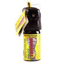 Obranné spreje OC TORNADO so svetlom, 40 ml