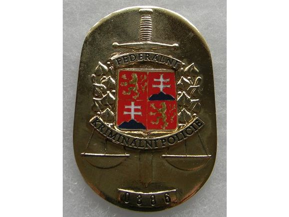 Odznak federálnej kriminálnej polície