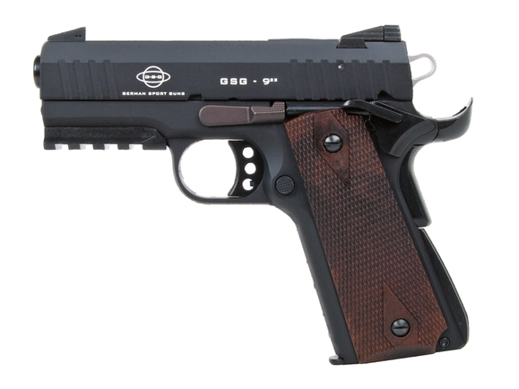 Pištoľ GSG 922 Walnut kal. 22 LR čierna