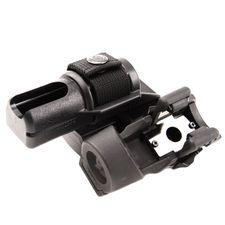 Plastové puzdro na obušok a svietidlo dvojité, rotačné BH-LHU-04