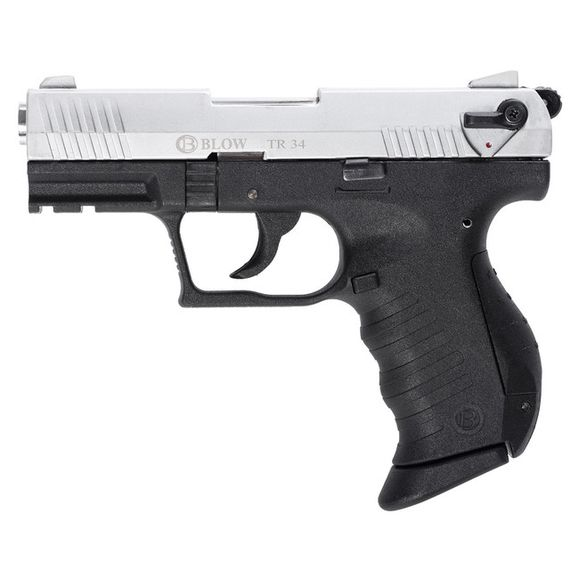 Plynová pištoľ BLOW TR 34, kal. 9 mm chróm