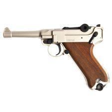 Plynová pištoľ Cuno Melcher P08 satén, kal.9 mm
