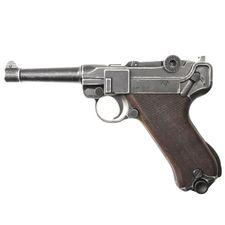 Plynová pištoľ Cuno Melcher P08 antik, kal.9 mm